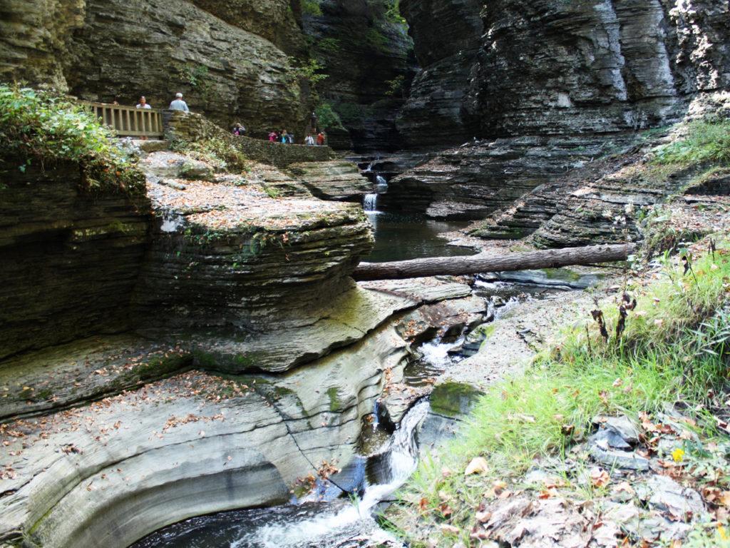 Watkins-Glen-State-Park-in-Amerika-bezoeken