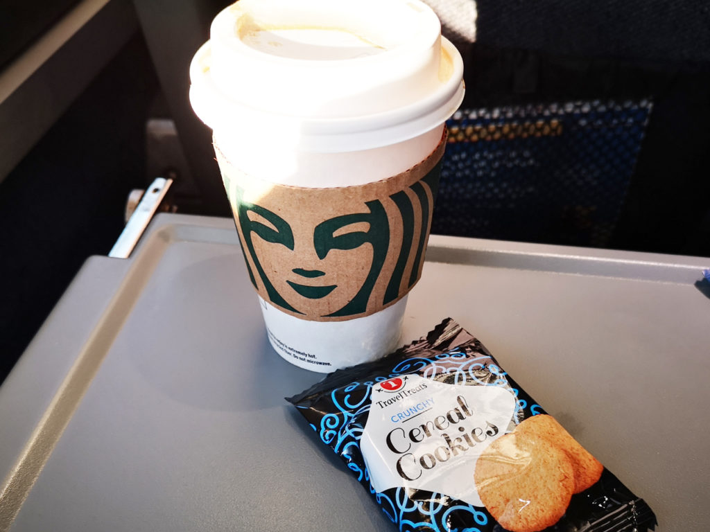 Starbucks-in-de-trein