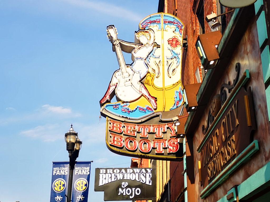 Betty-Boots Nashville