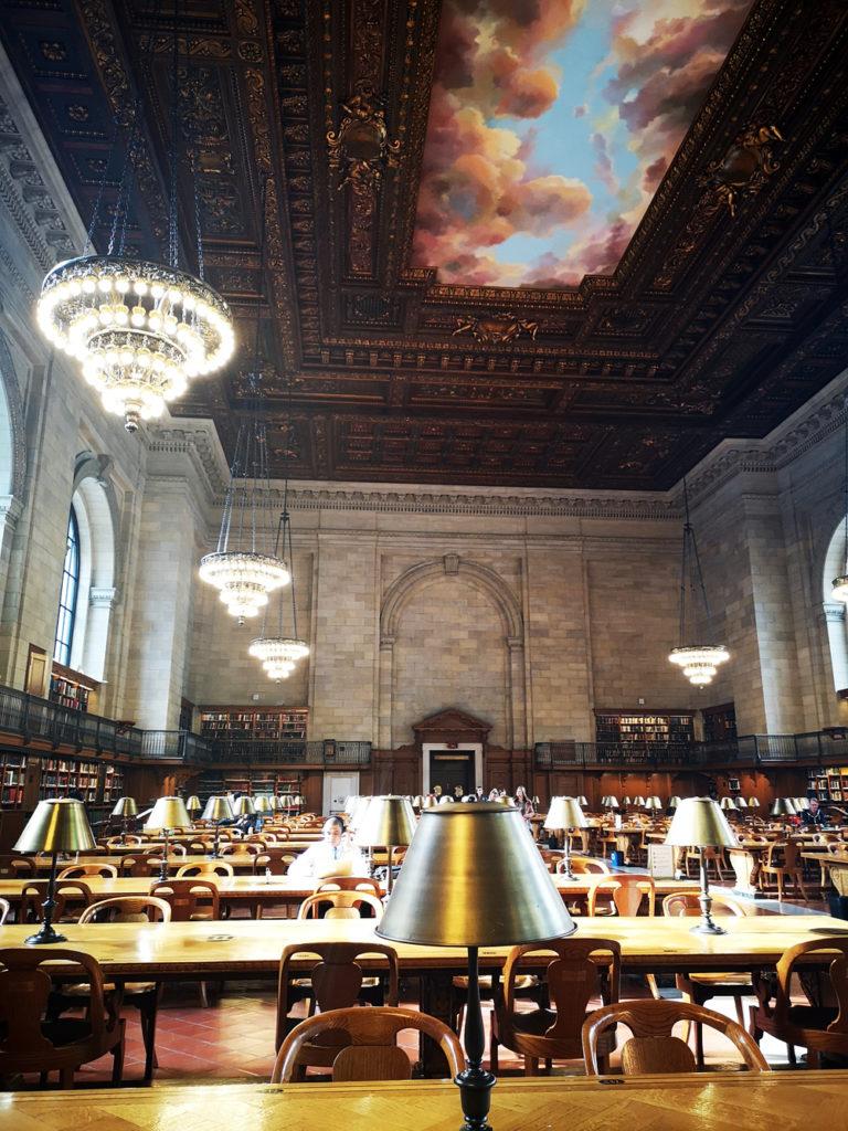 Plafond-bibliotheek-New-York