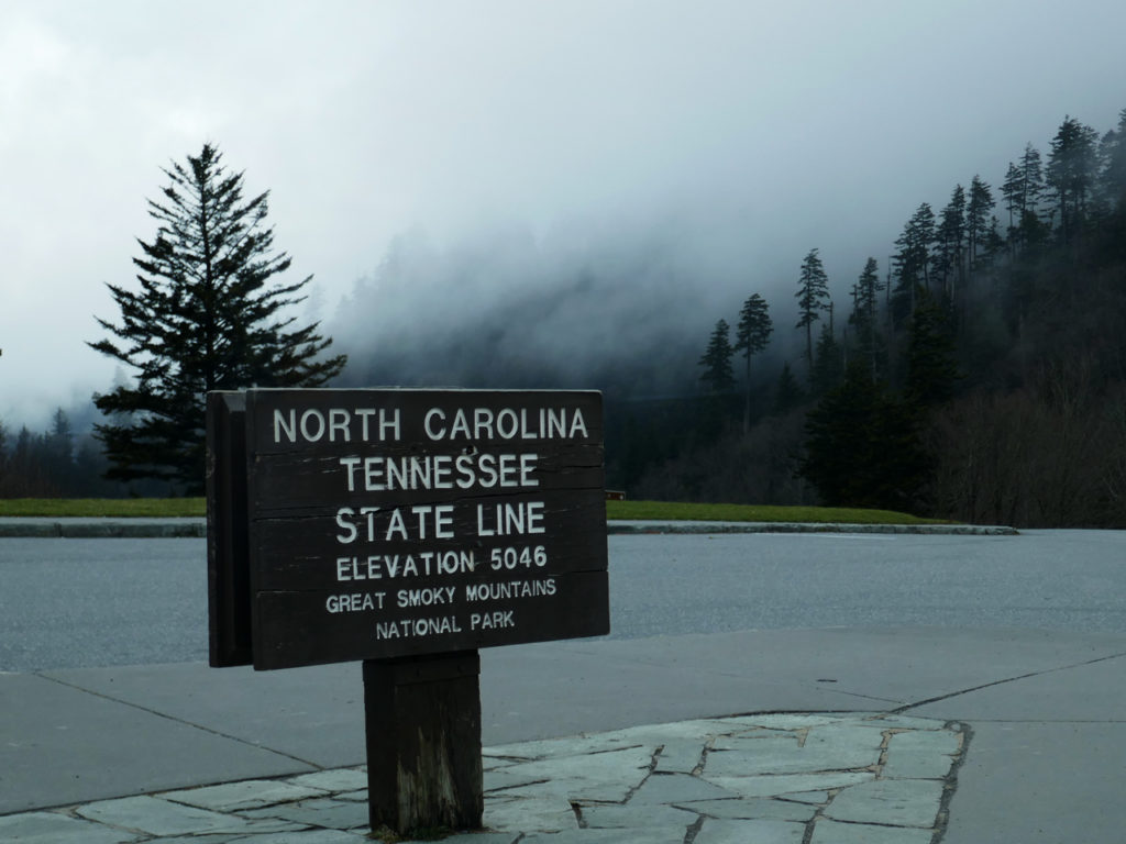 great-smoky-Mountains-Eelevation-state-line