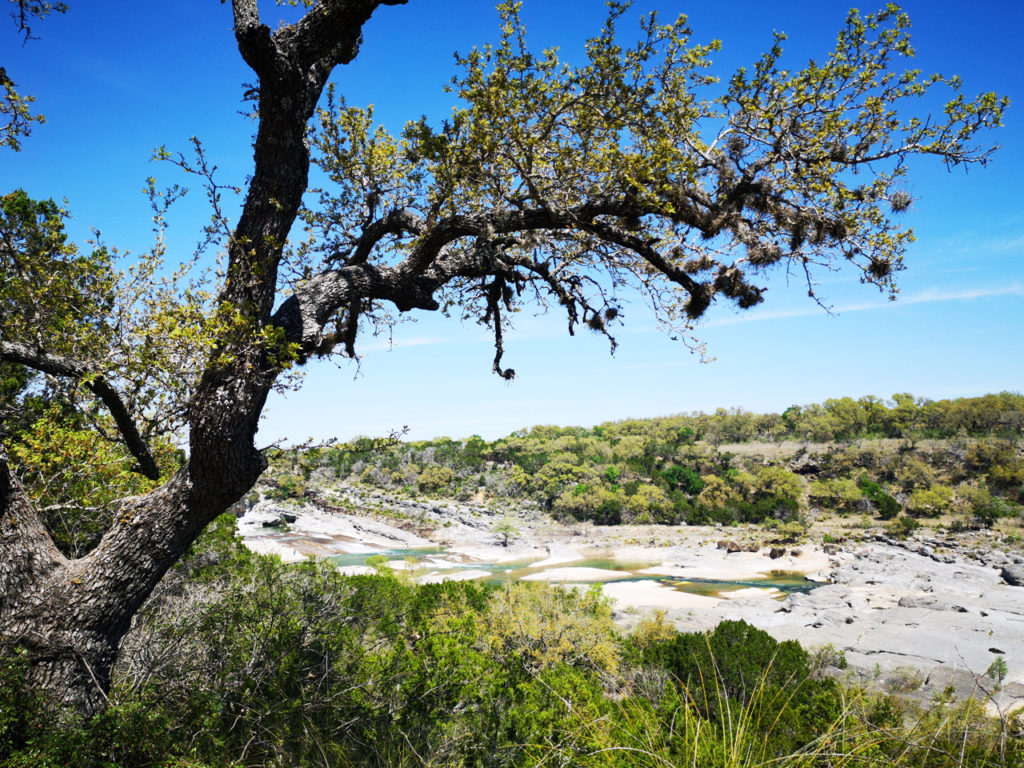 Wandelen-Pedernales-Fall-State-Park-Natuur-in-Texas