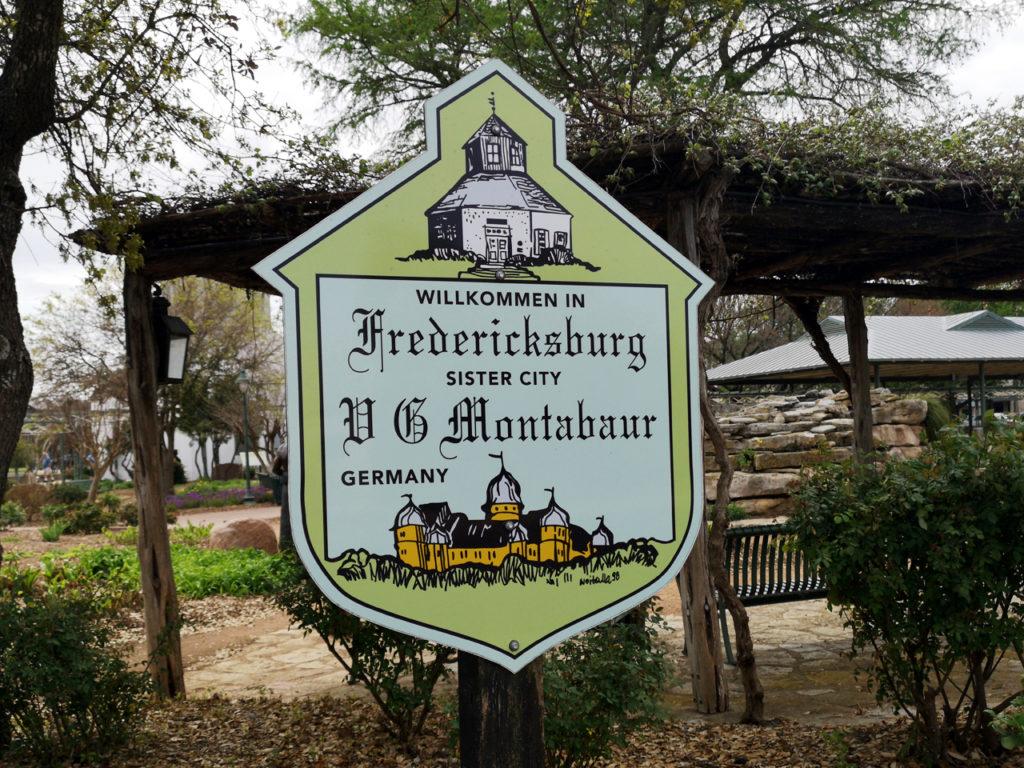 Wilkommen-Fredricksburg