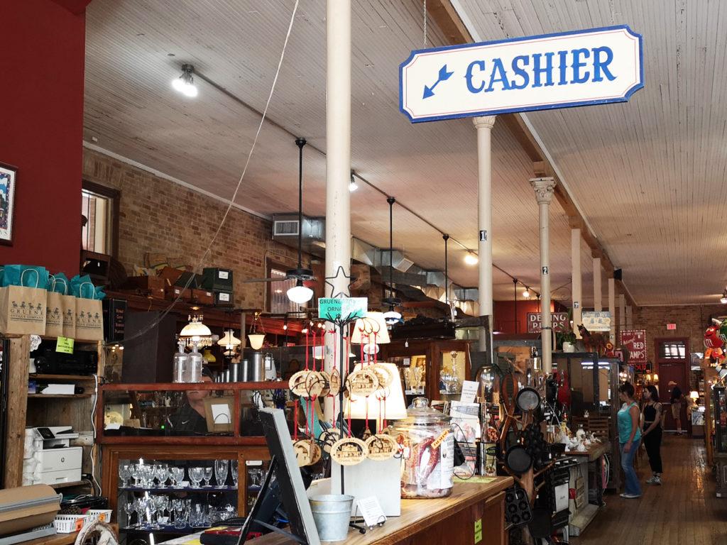 antiekwinkel-in-Texas
