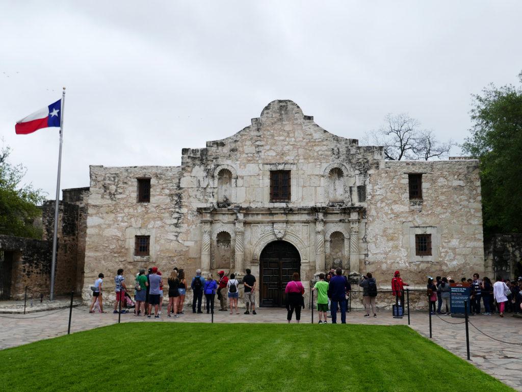 Alamo-bezoeken-in-Texas