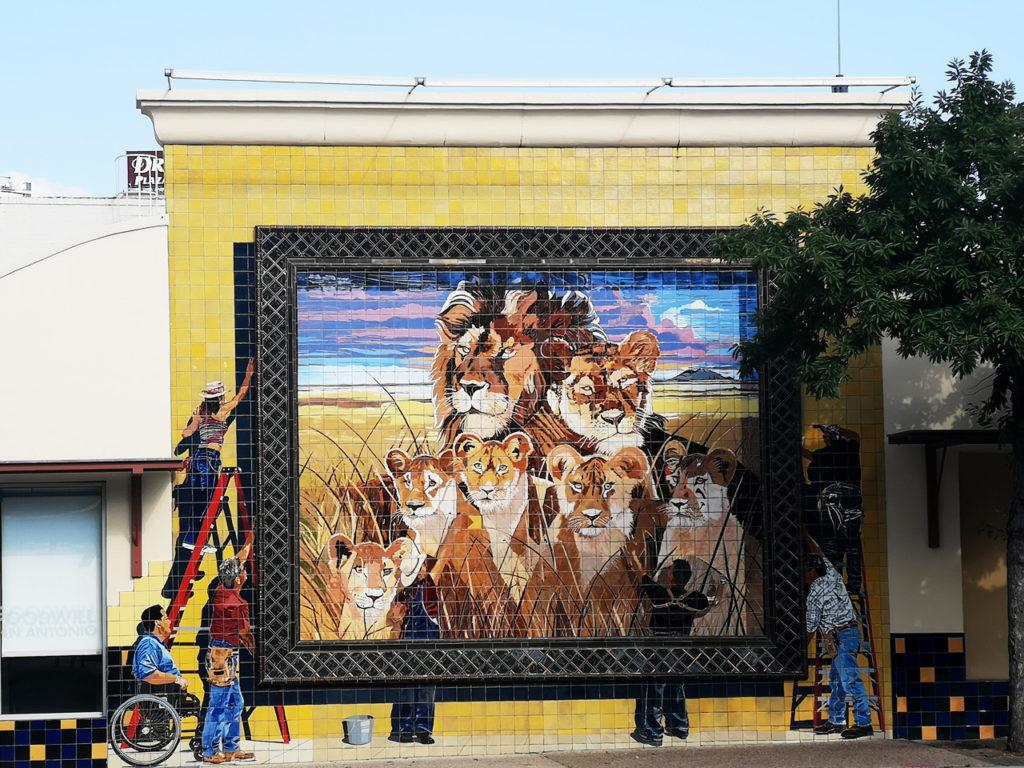 Mural San Antonio Texas