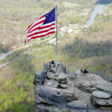 Van New York naar Texas: Amerika reis dag 25: Waanzinnig uitzicht in Chimney Rock State Park