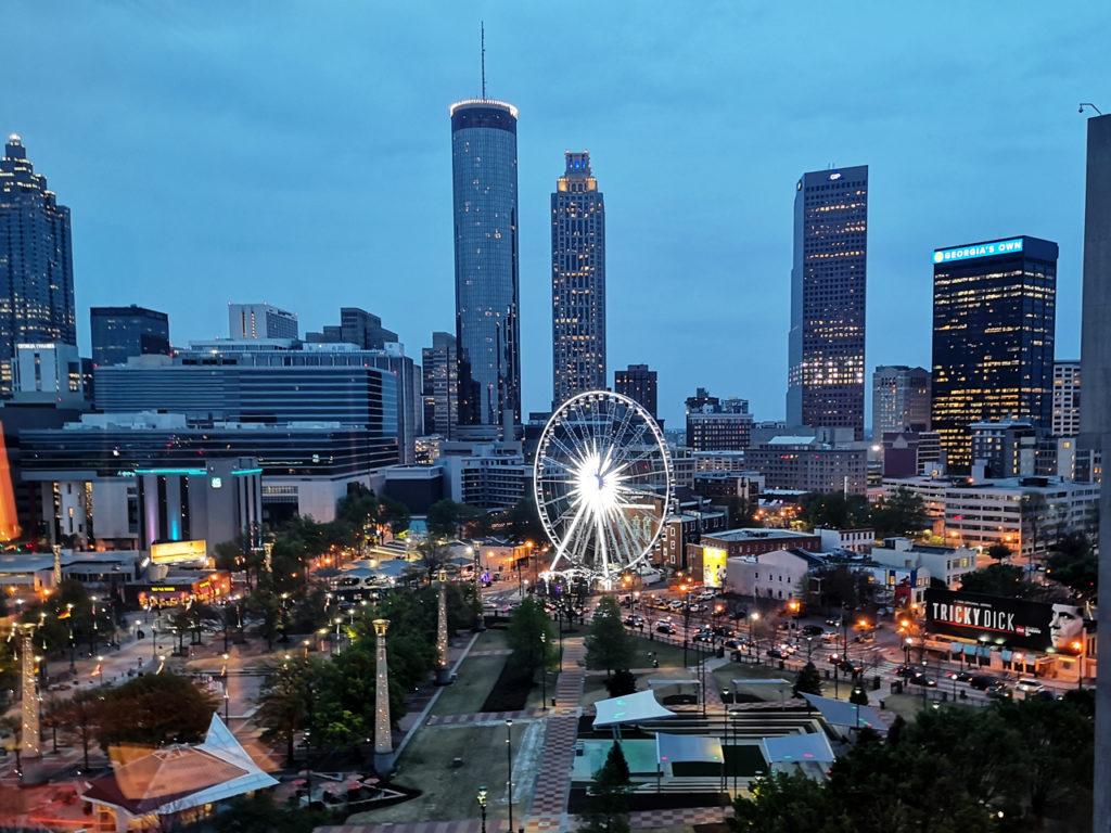 Uitzicht-Atlanta-Amerika-reizen