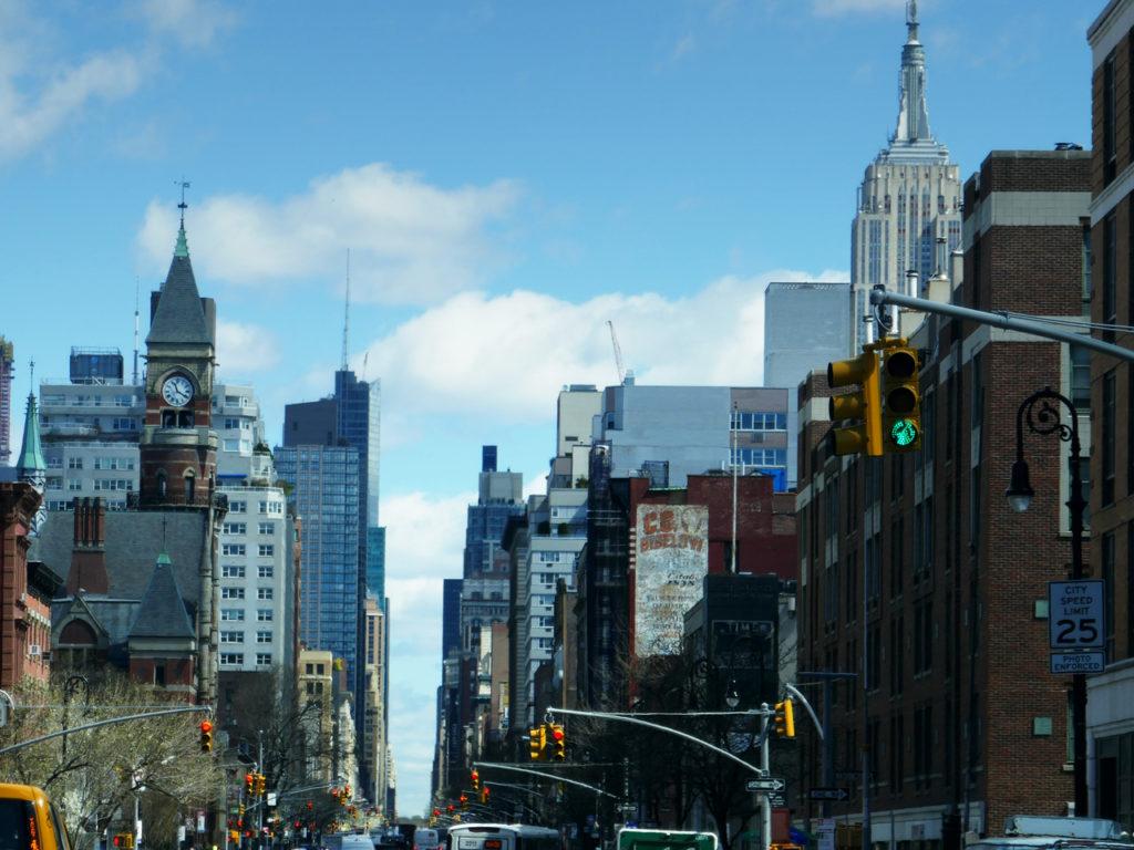Rijden in New York Amerika reizen