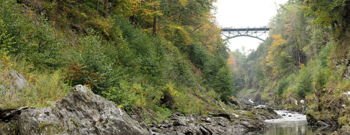 Quechee Gorge in Amerika