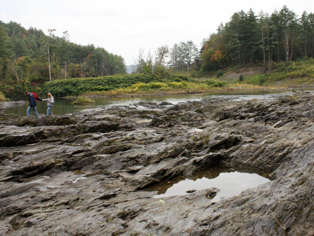 Quechee Gorge in Amerika bezoeken New England