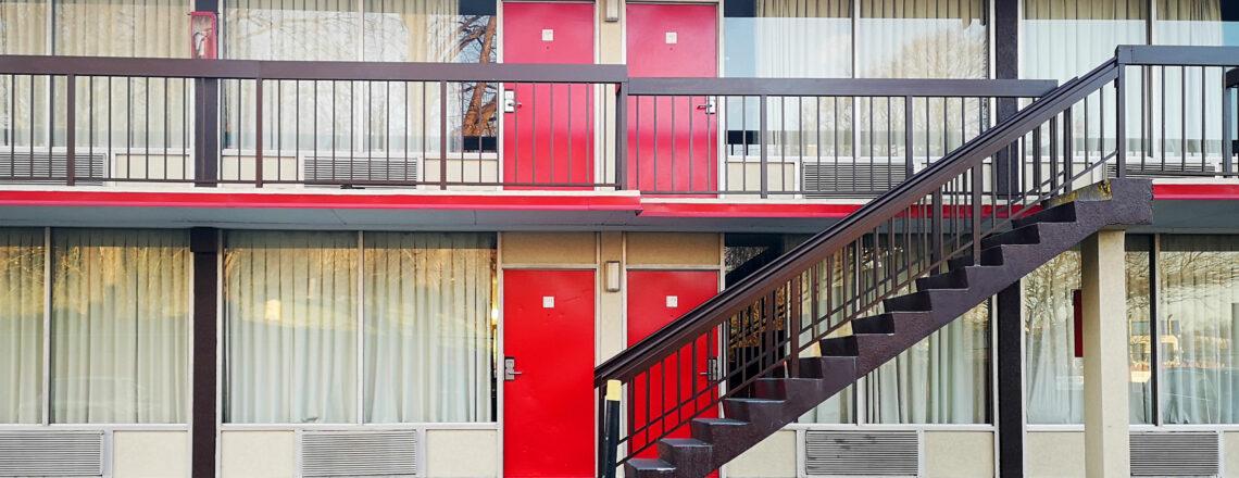 Voorbereiding Amerika 2021: Een spookhotel of hip motel?