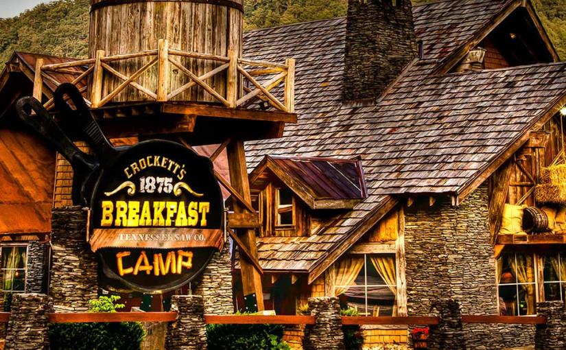 crocketts breakfast camp ontbijtrestaurant in Gatlinburg