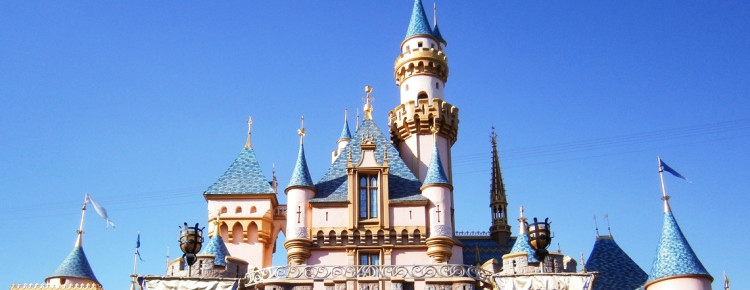 Disneyland-in-Amerika-Anaheim-Californië