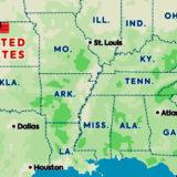 Route Amerika reis: New York – Texas