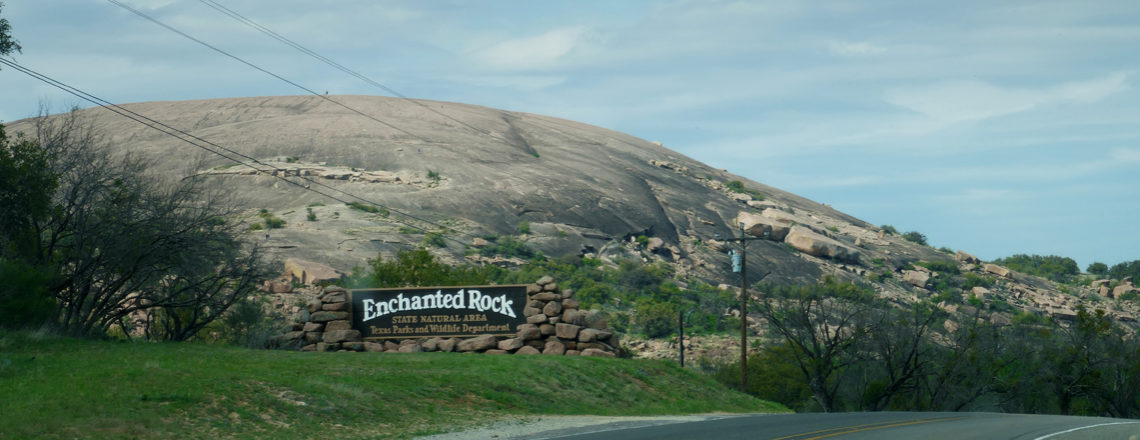 Natuur in Texas: Enchanted Rock