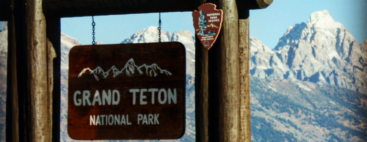 Grand Teton National Park in Amerika