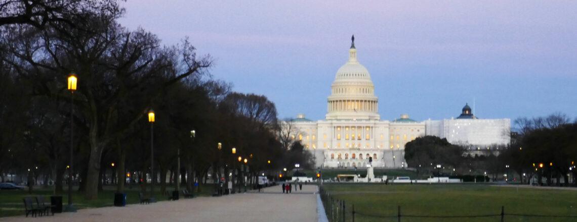 Voorbereiding Amerika 2021: Eindelijk naar Georgetown in Washington DC!